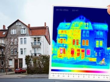 Audit énergetique zones de chaleur