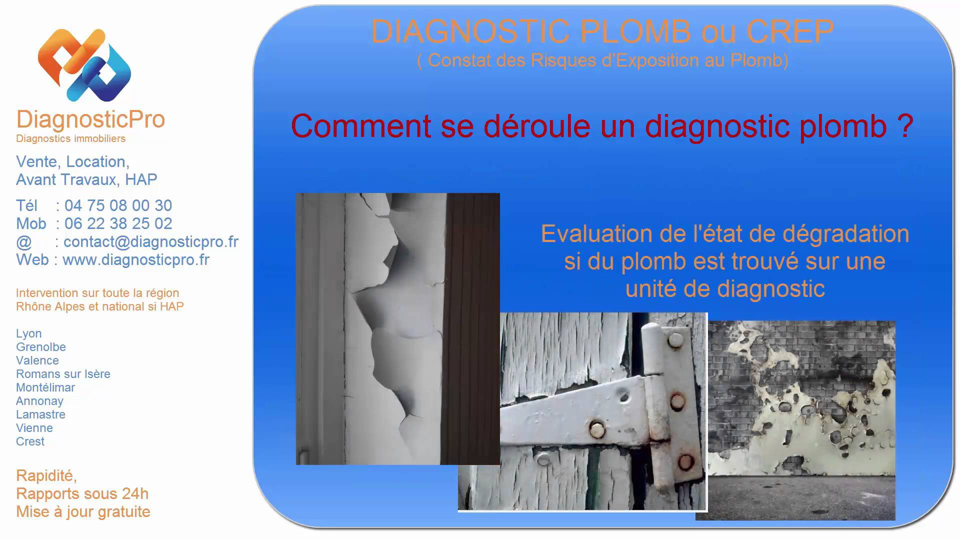le diagnostic plomb comment se d roule un diagnostic plomb ou crep votre diagnostic immobilier. Black Bedroom Furniture Sets. Home Design Ideas