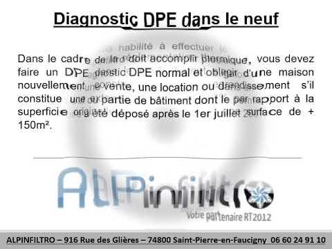 alpinfiltro propose un diagnostic dpe neuf saint cergues votre diagnostic immobilier. Black Bedroom Furniture Sets. Home Design Ideas